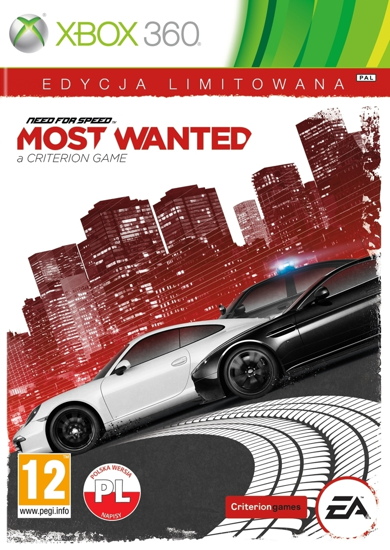 Need for Speed Most Wanted PL Edycja Limitowana (Xbox 360)